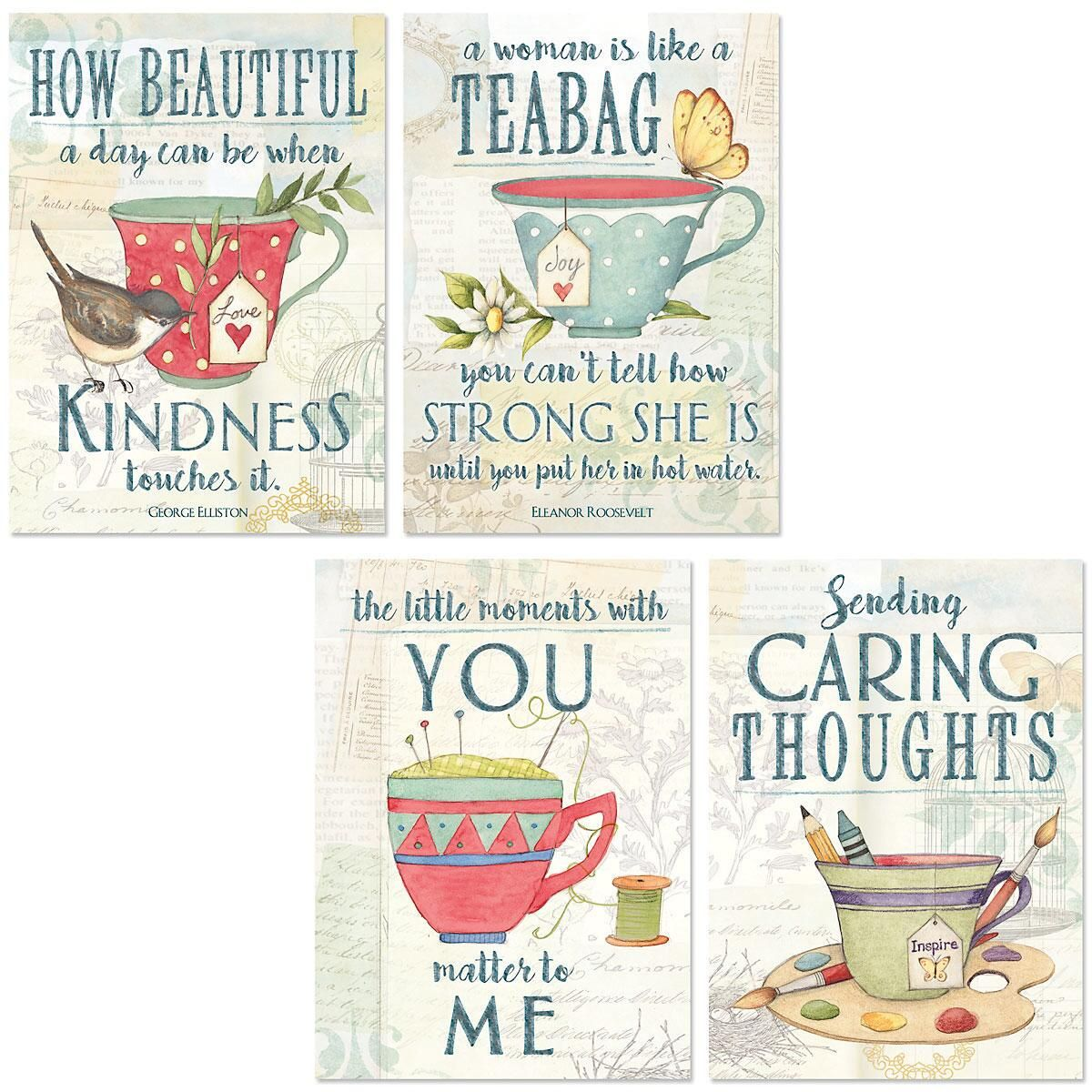 Tea Time Friendship Cards