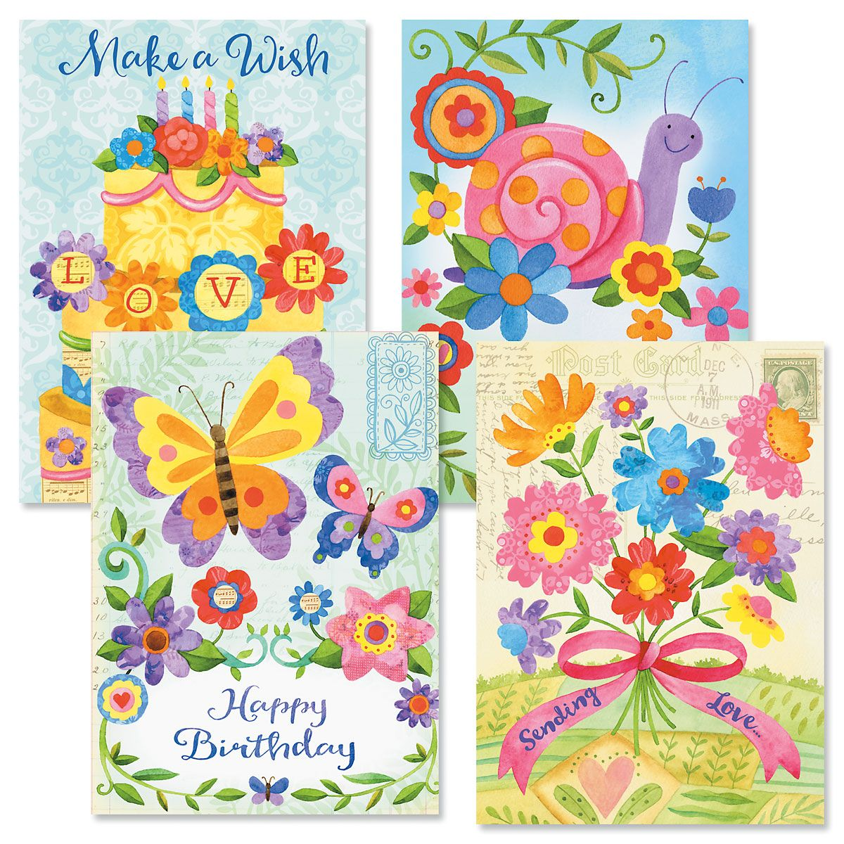 From the Heart Birthday Cards