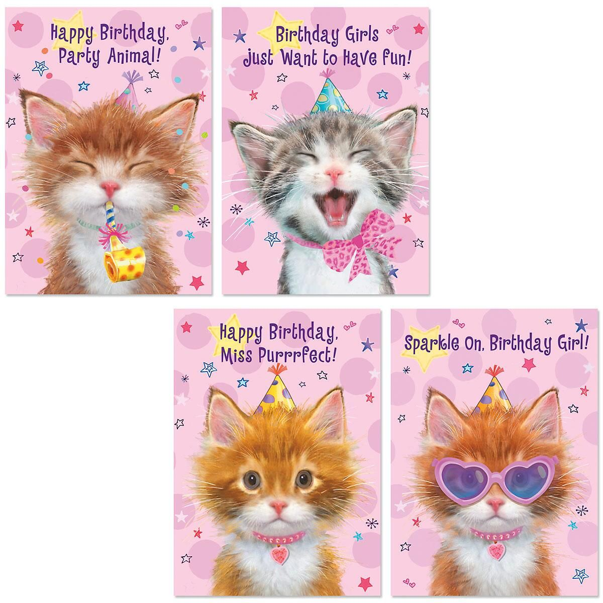 Birthday Cats Cards