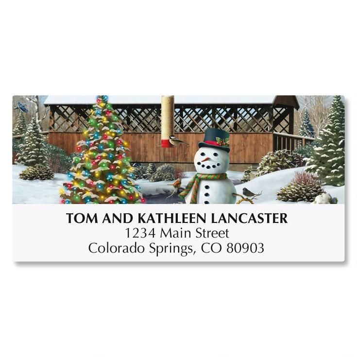 Countryside Deluxe Address Labels
