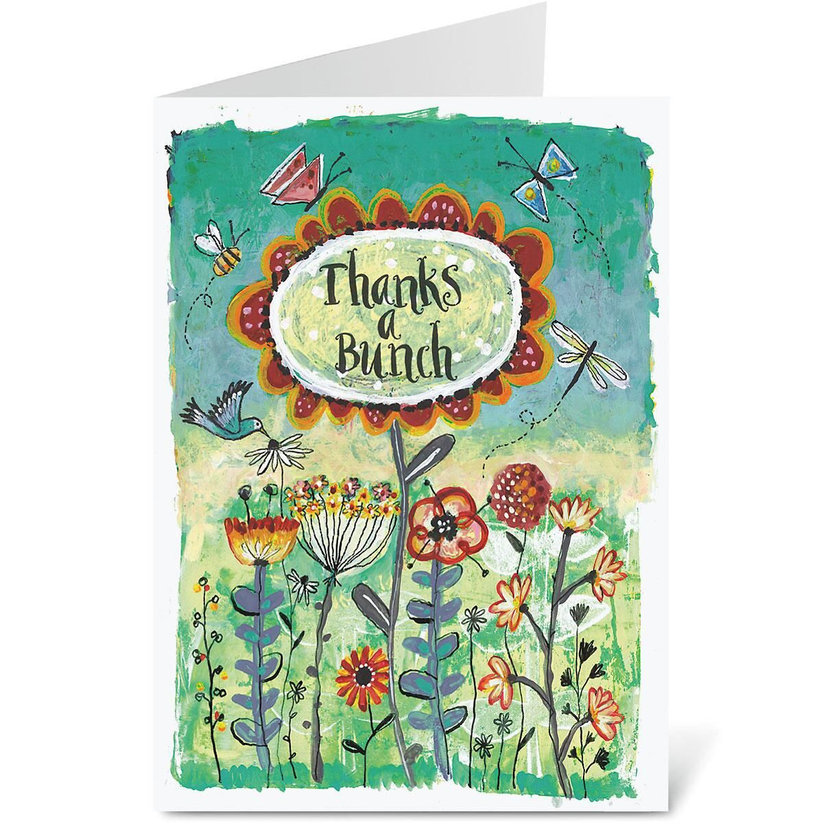 Thanks a Bunch Thank You Note Cards