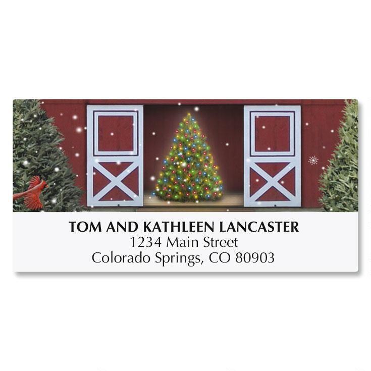 Tree Farm Deluxe Address Labels