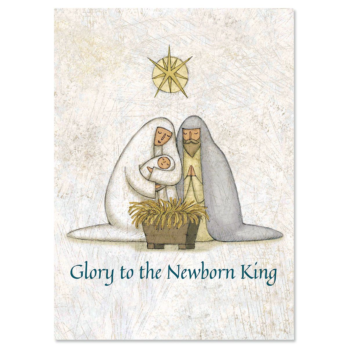 Rejoice Personalized Christmas Cards - Set of 18