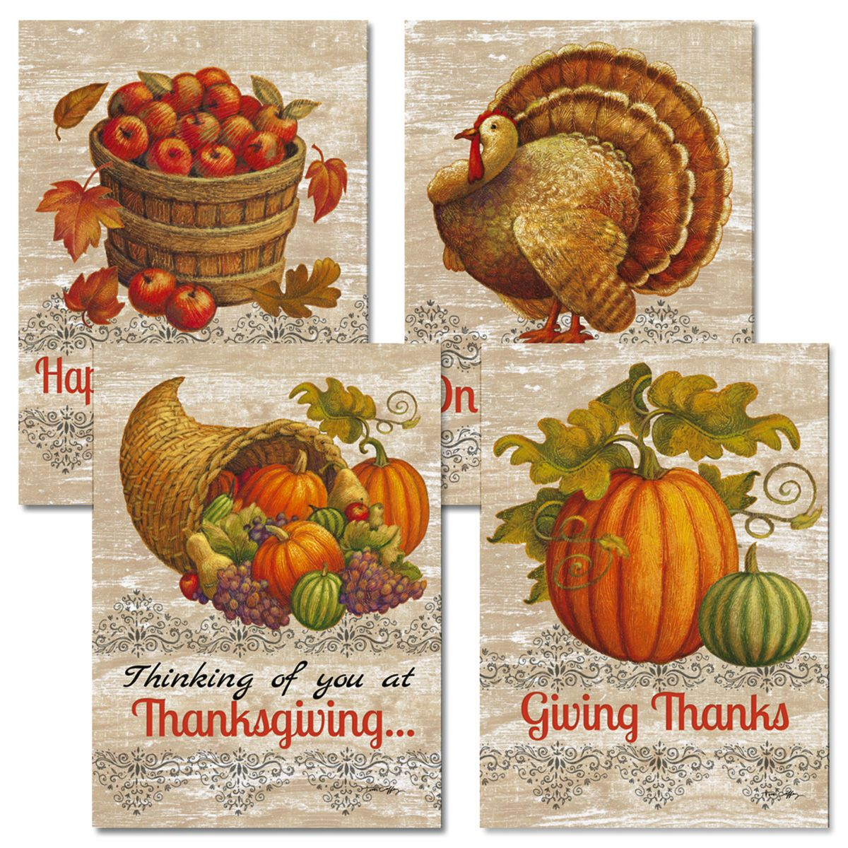 Harvest Time Thanksgiving Cards