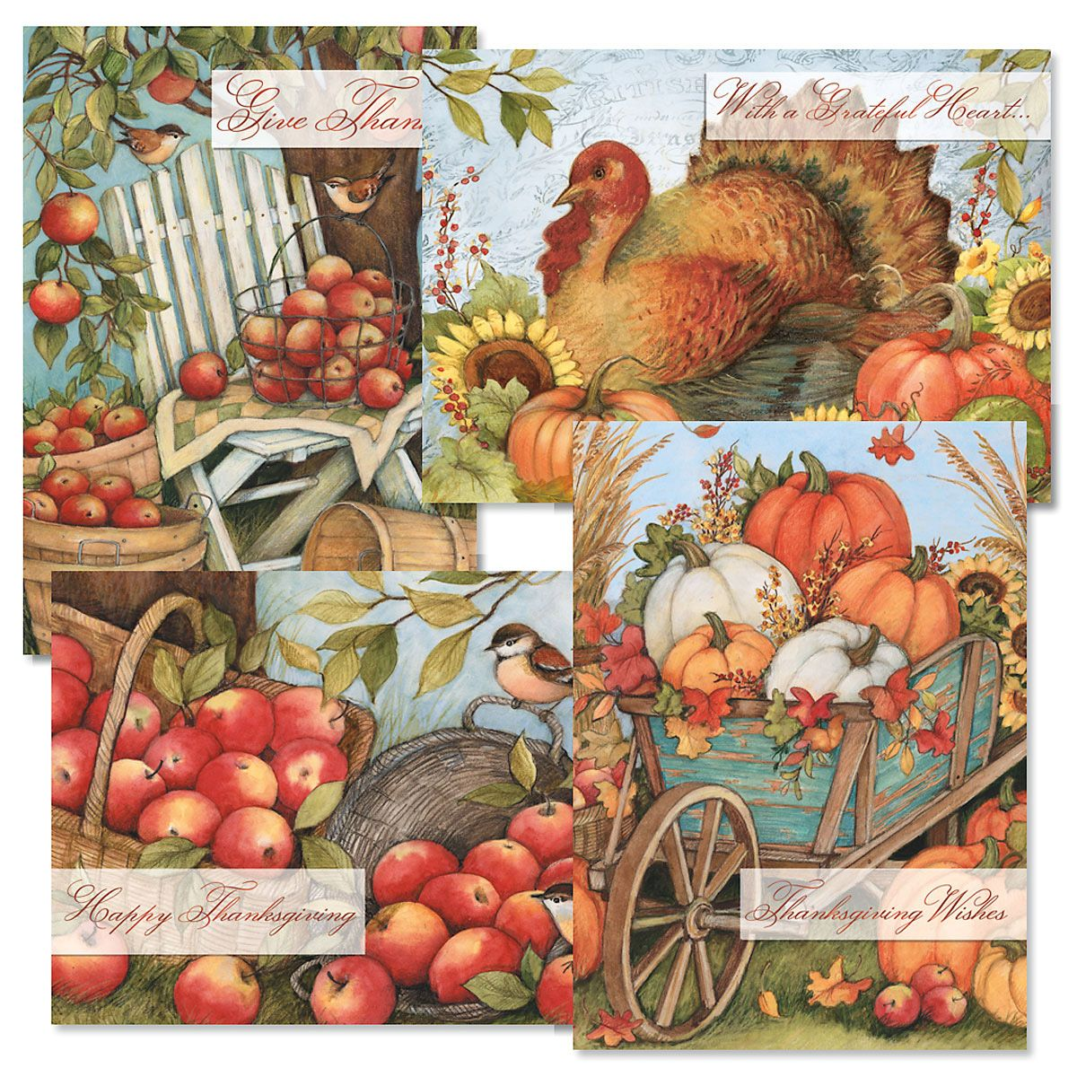 Bountiful Thanksgiving Cards