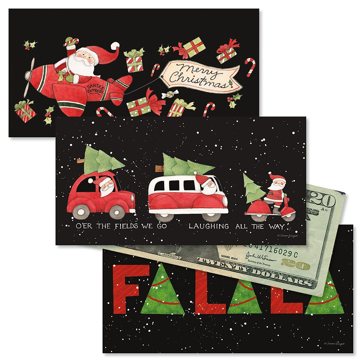 Fa-La-La Holiday Cash Card