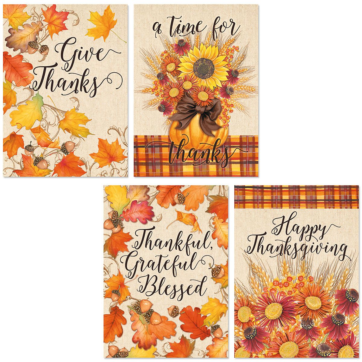 Autumn Welcome Greeting Cards
