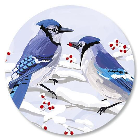 Winter Jays Seals