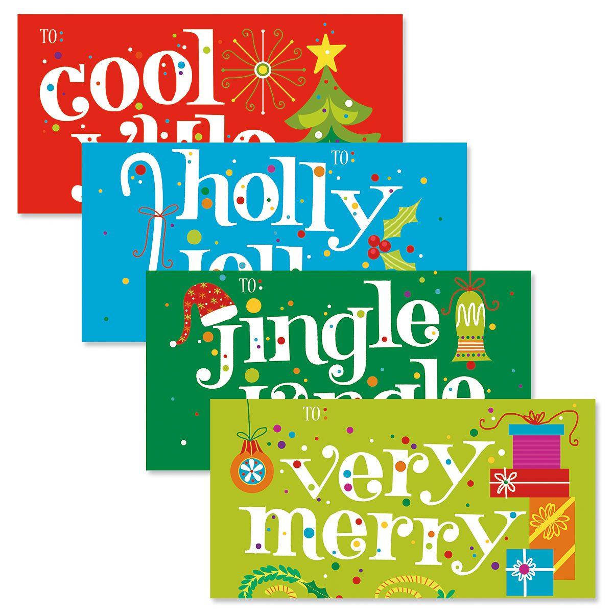 Season's Greetings Money Envelopes