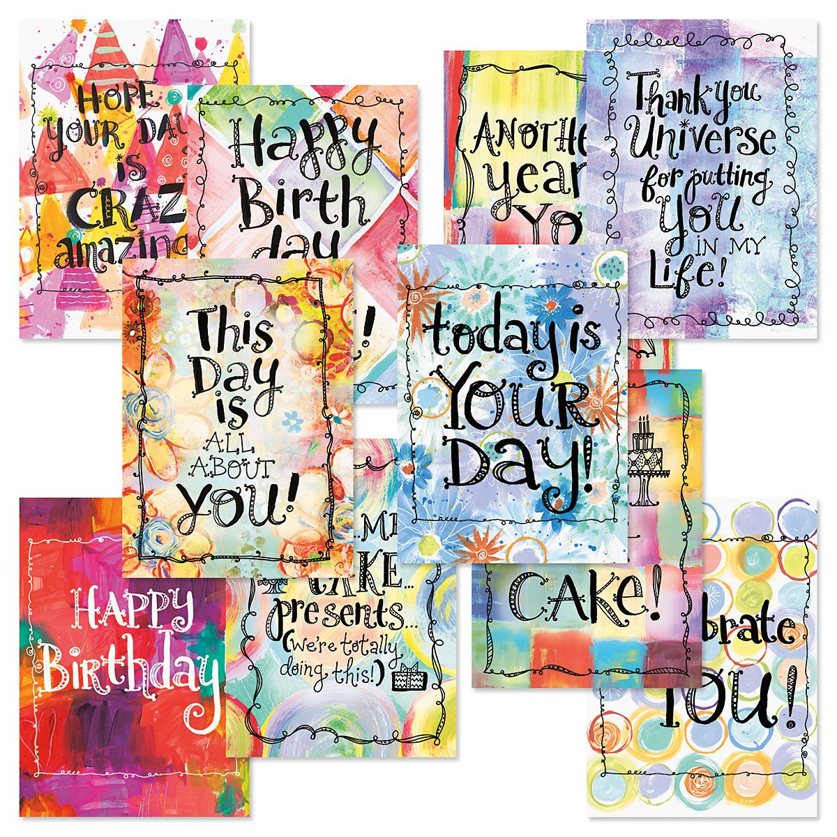 crazy amazing birthday cards value pack - Discount Greeting Cards