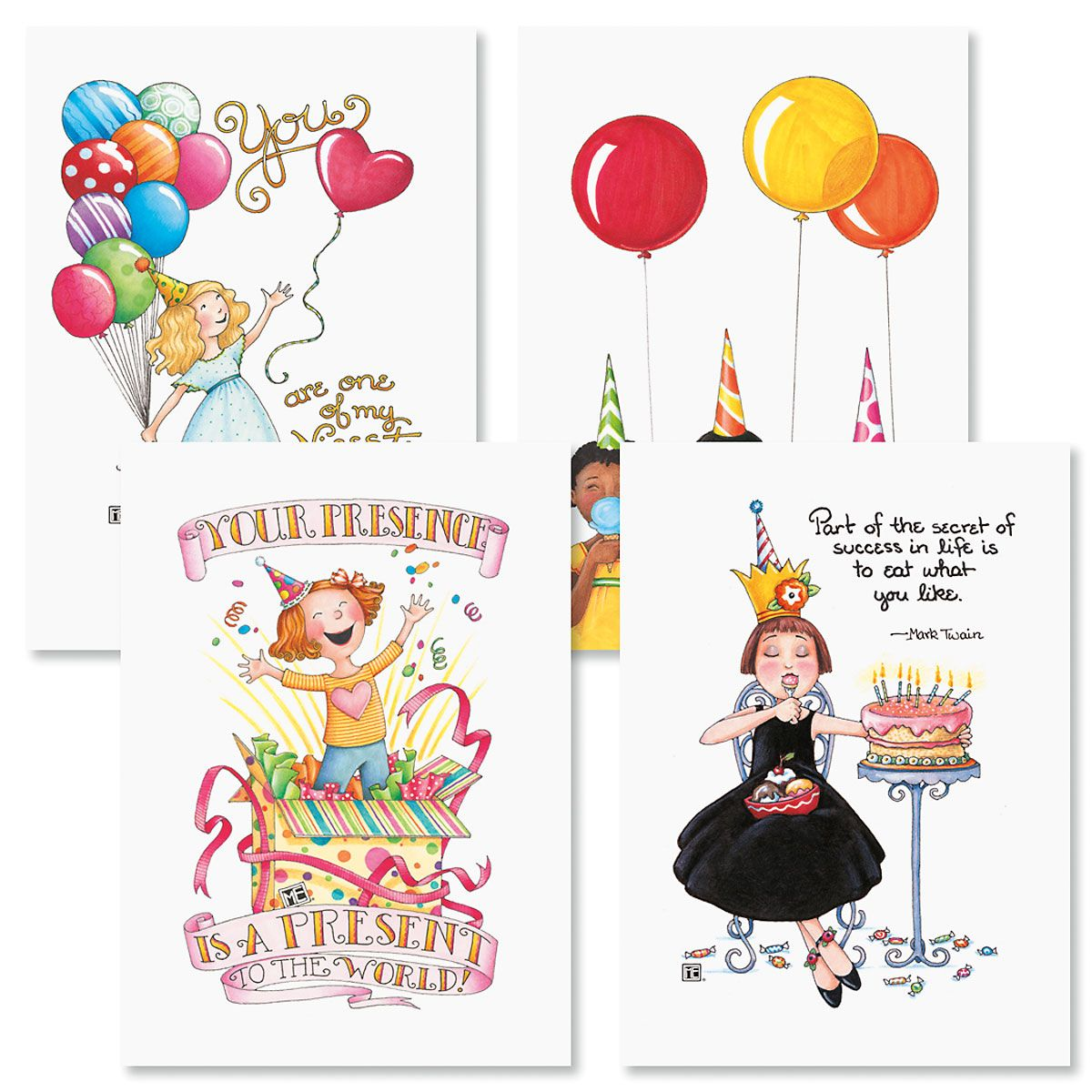 Mary Engelbreit® Birthday Cards and Seals