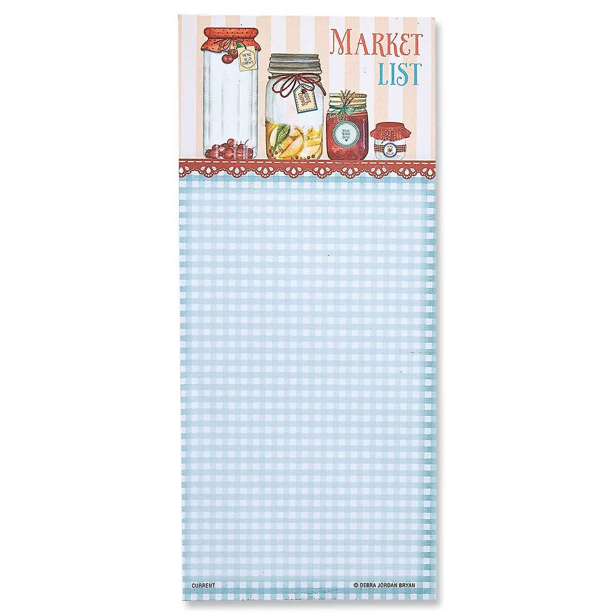 Magnetic Market List Pads