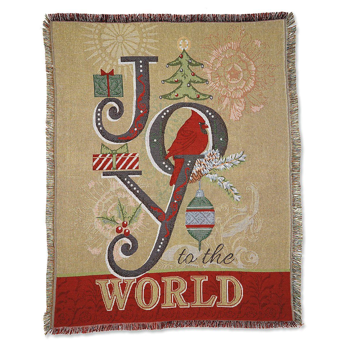 Joy To The World Throw