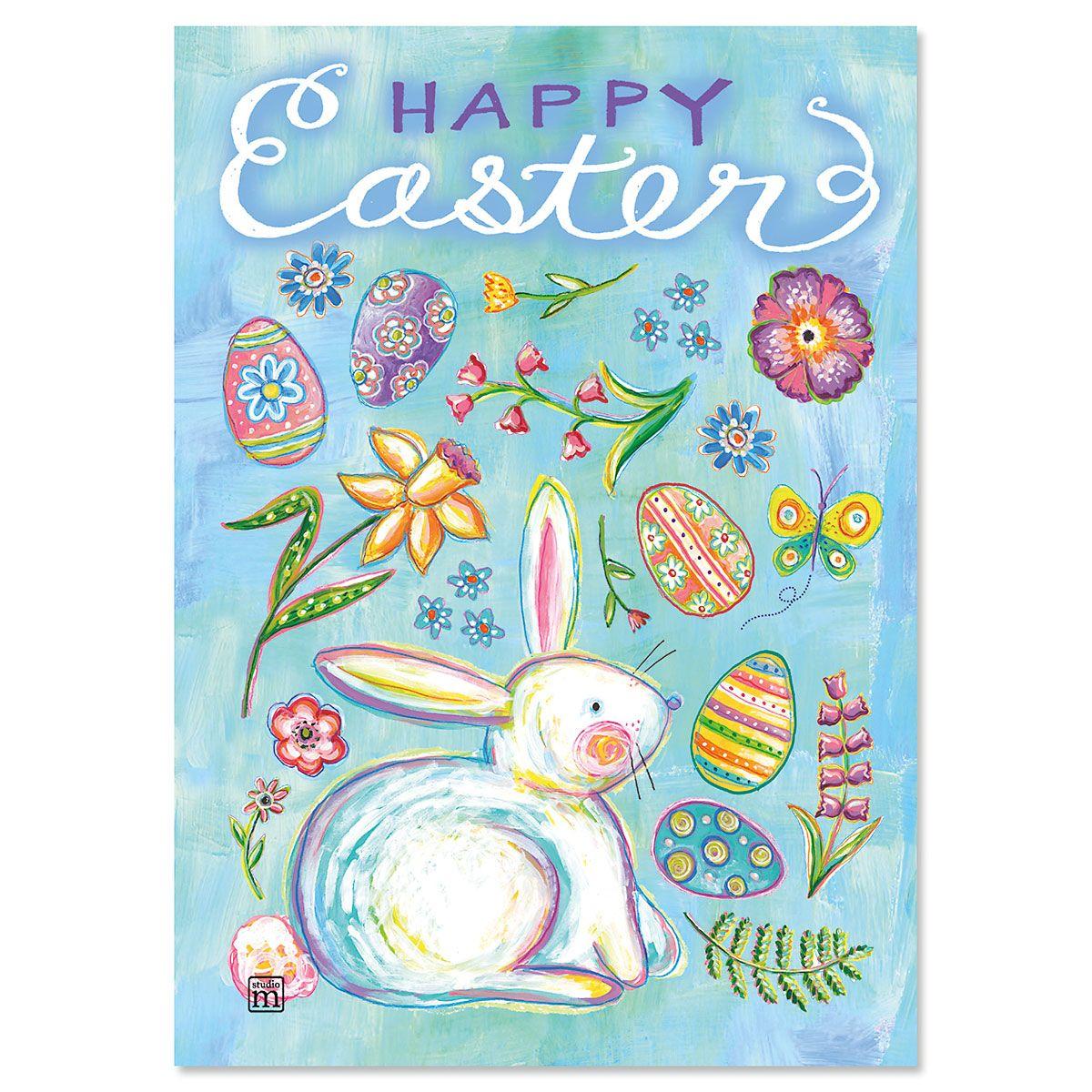 Easter Garden Easter Cards