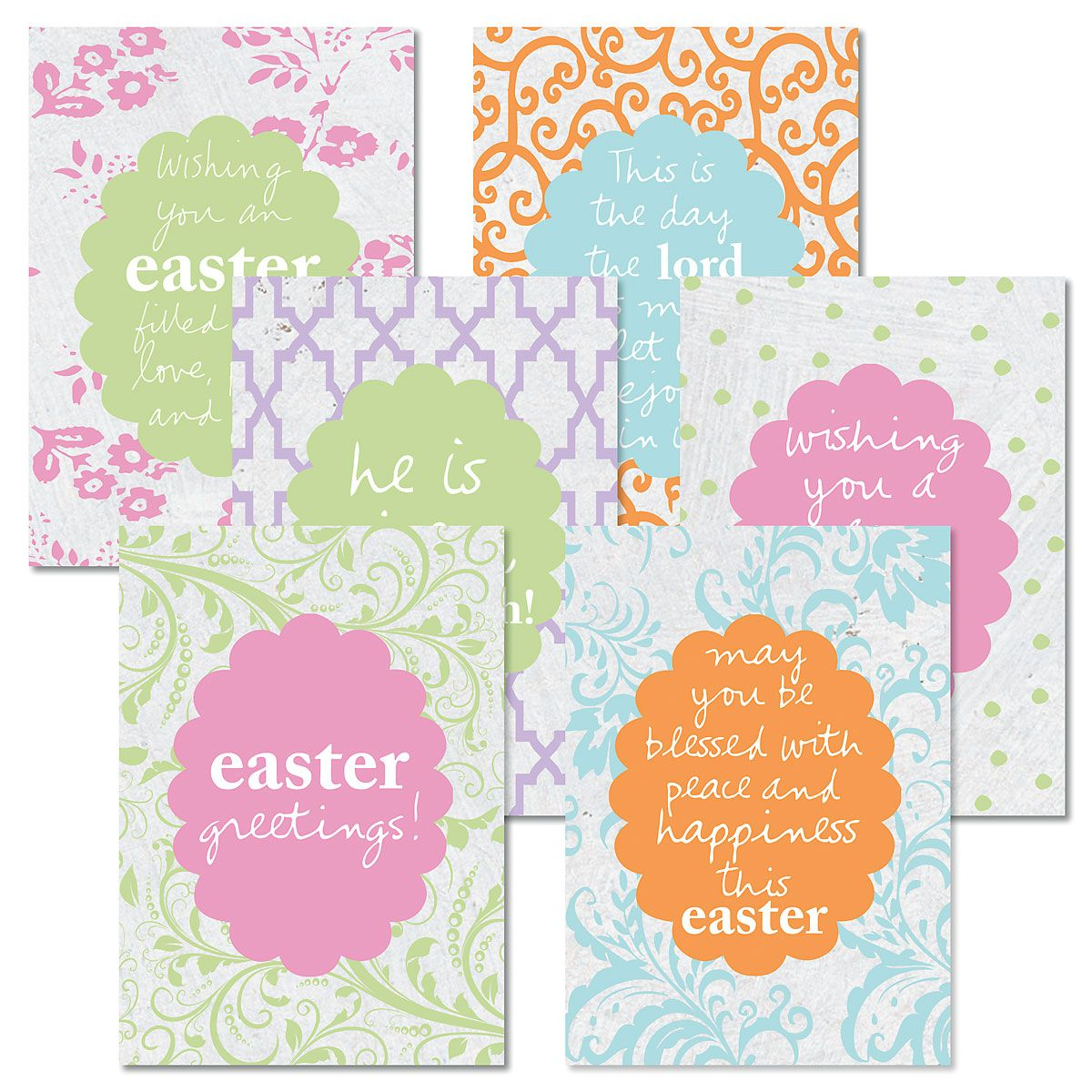 Magsamen Easter Faith Cards and Matching Seals