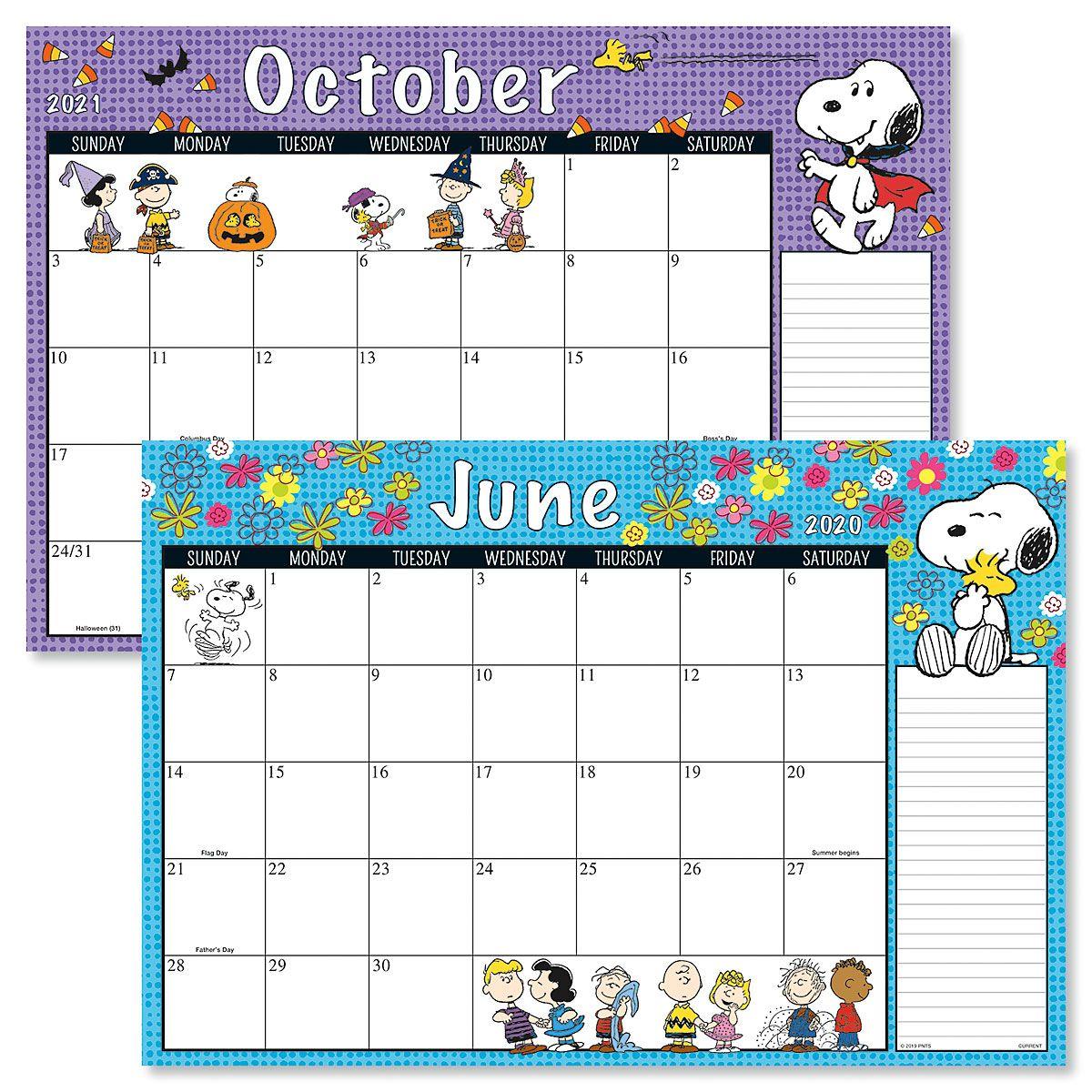PEANUTS® 2020-2021 Calendar Pads