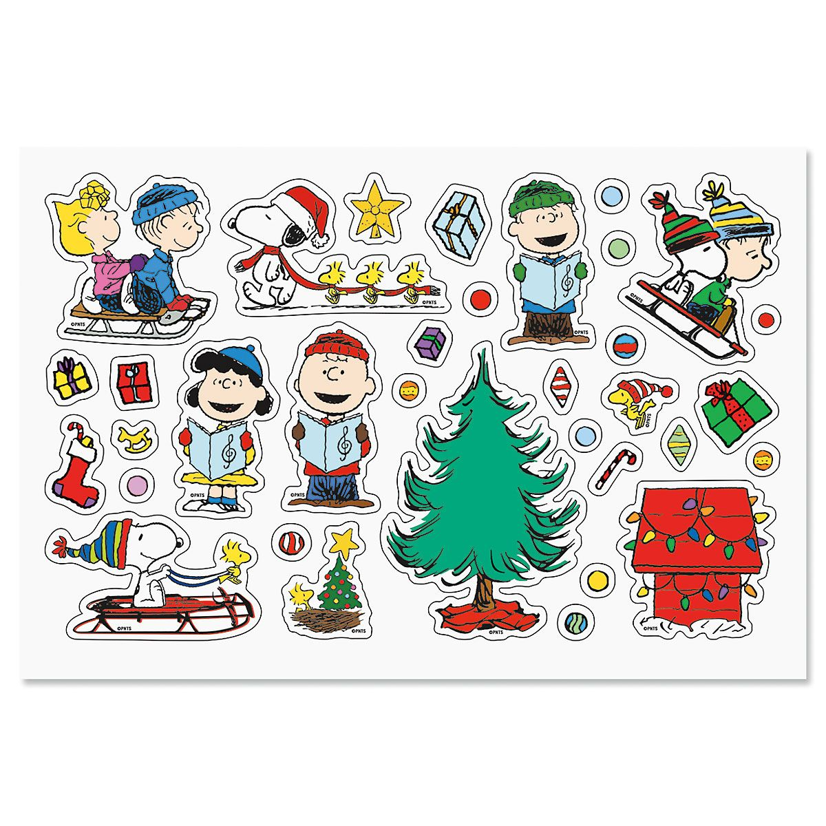 PEANUTS® Stickers - BOGO