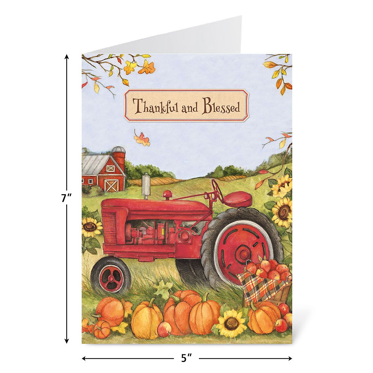 Trucking Thanksgiving Cards