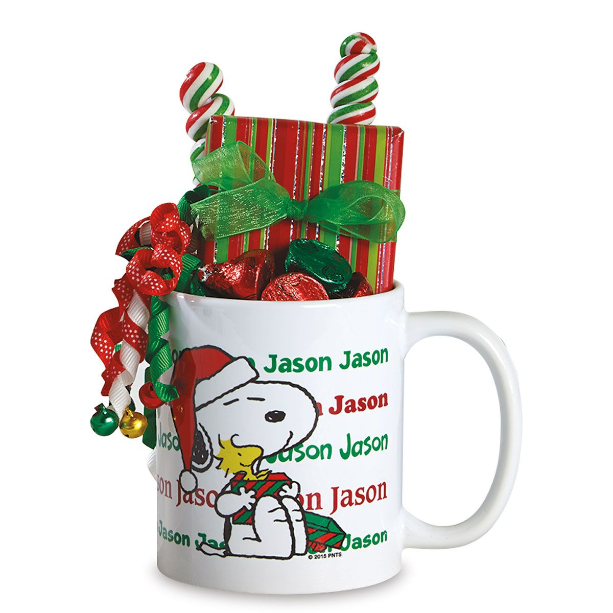 PEANUTS® Snoopy Personalized Christmas Mug