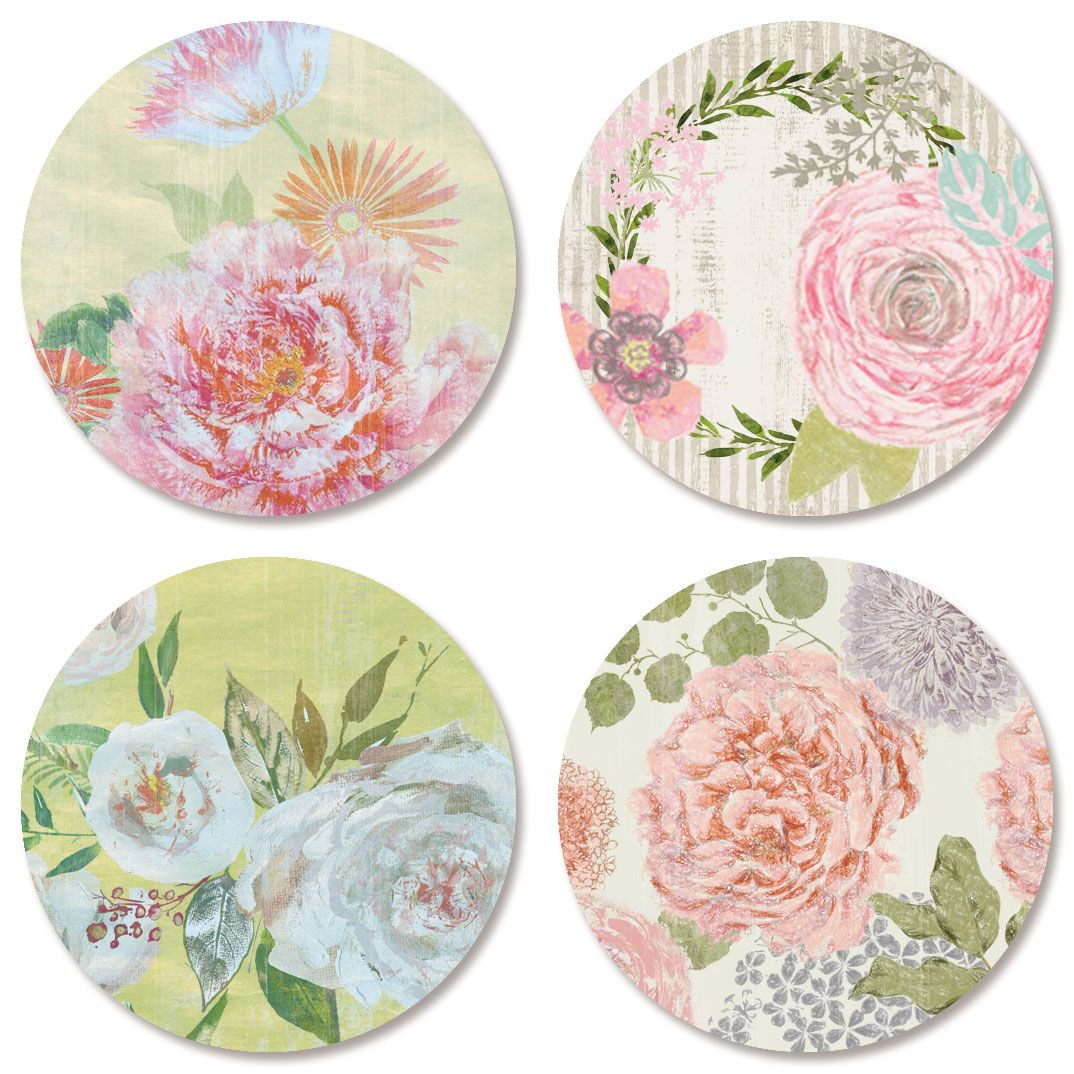 Faithful Floral Seals (4 Designs)