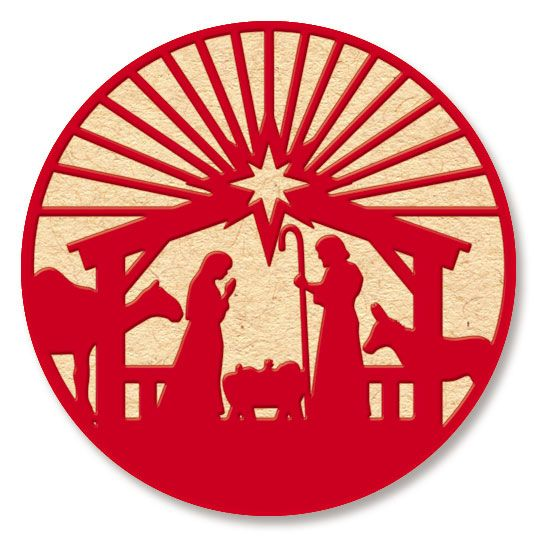 Red and White Manger Seals