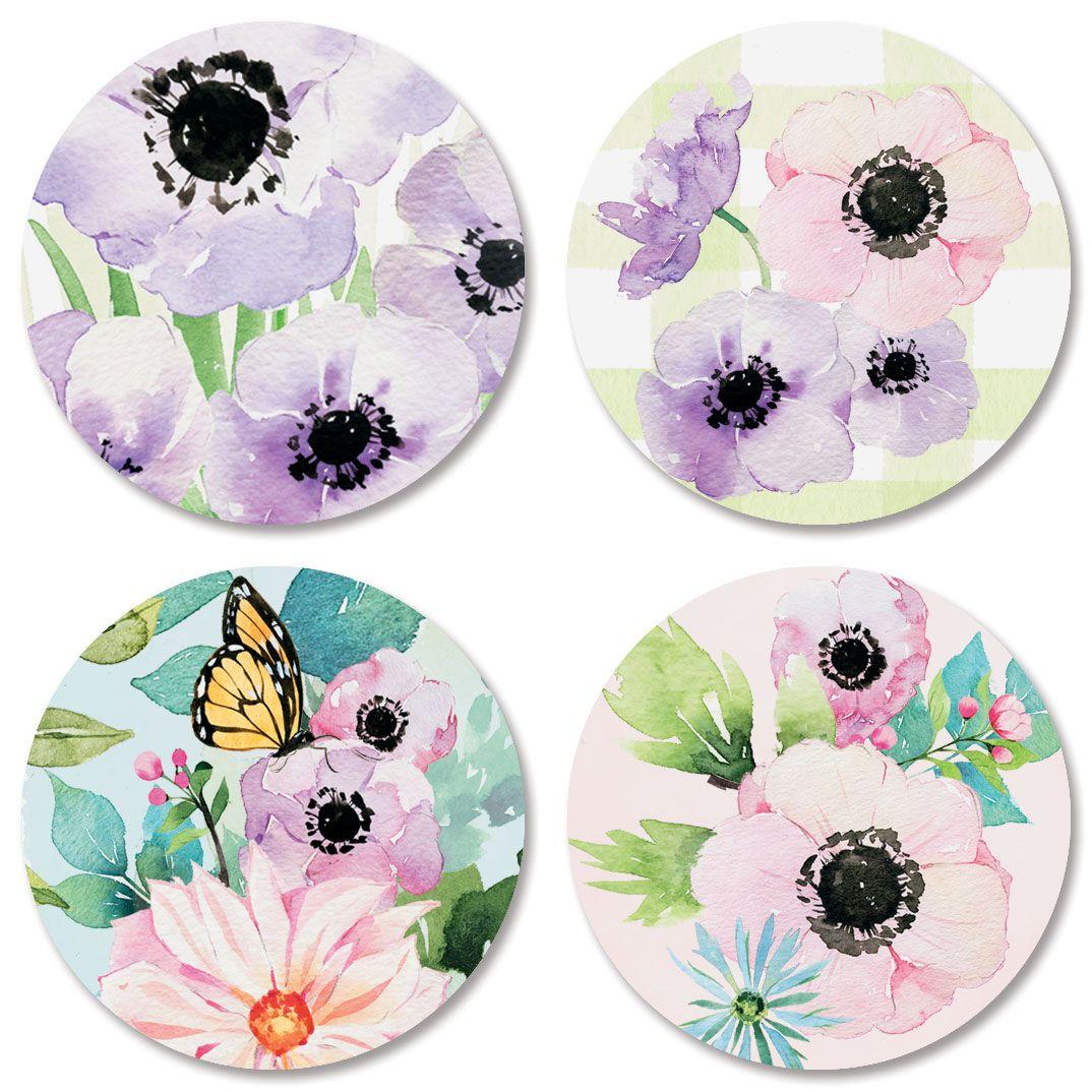Bunny Garden Seals (4 Designs)
