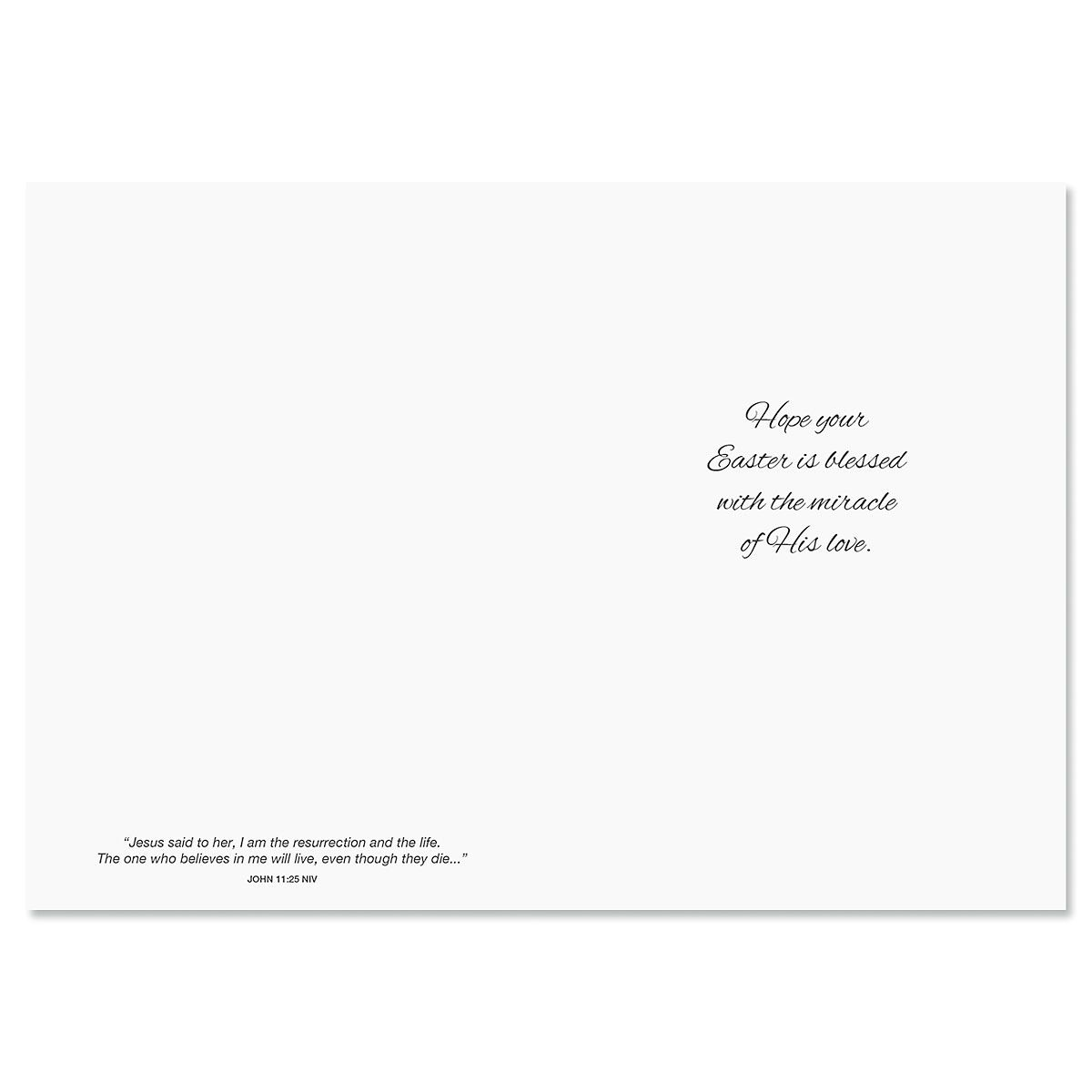 He is Risen Faith Easter Cards