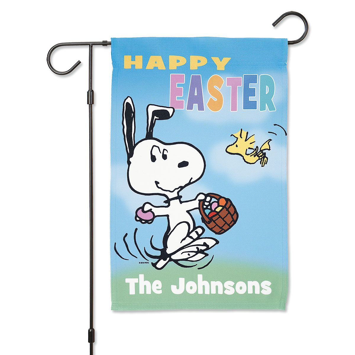 PEANUTS® Easter Personalized Garden Flag