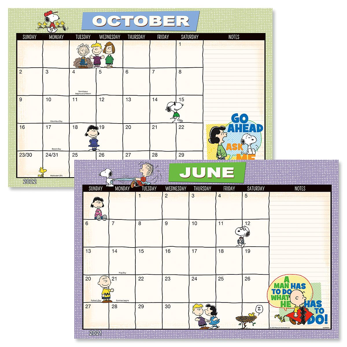 2021 2022 PEANUTS® Calendar Pad | Current Catalog