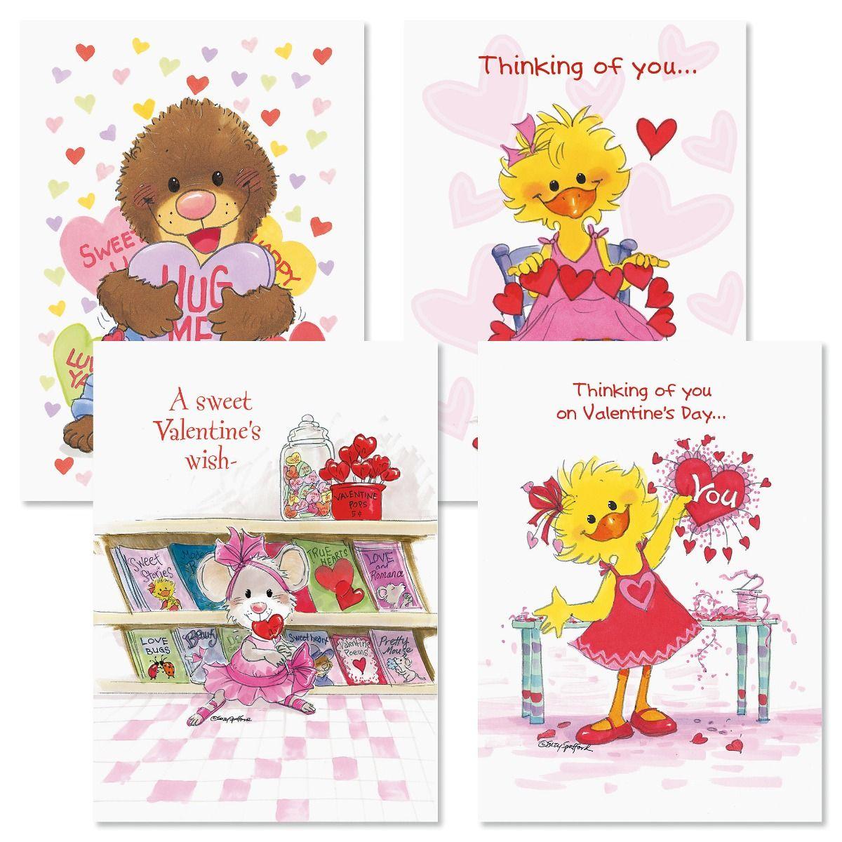 Suzy Zoo Valentine Cards