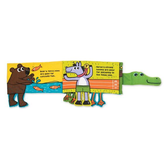 Whose Feet? Alligator Book by Melissa & Doug