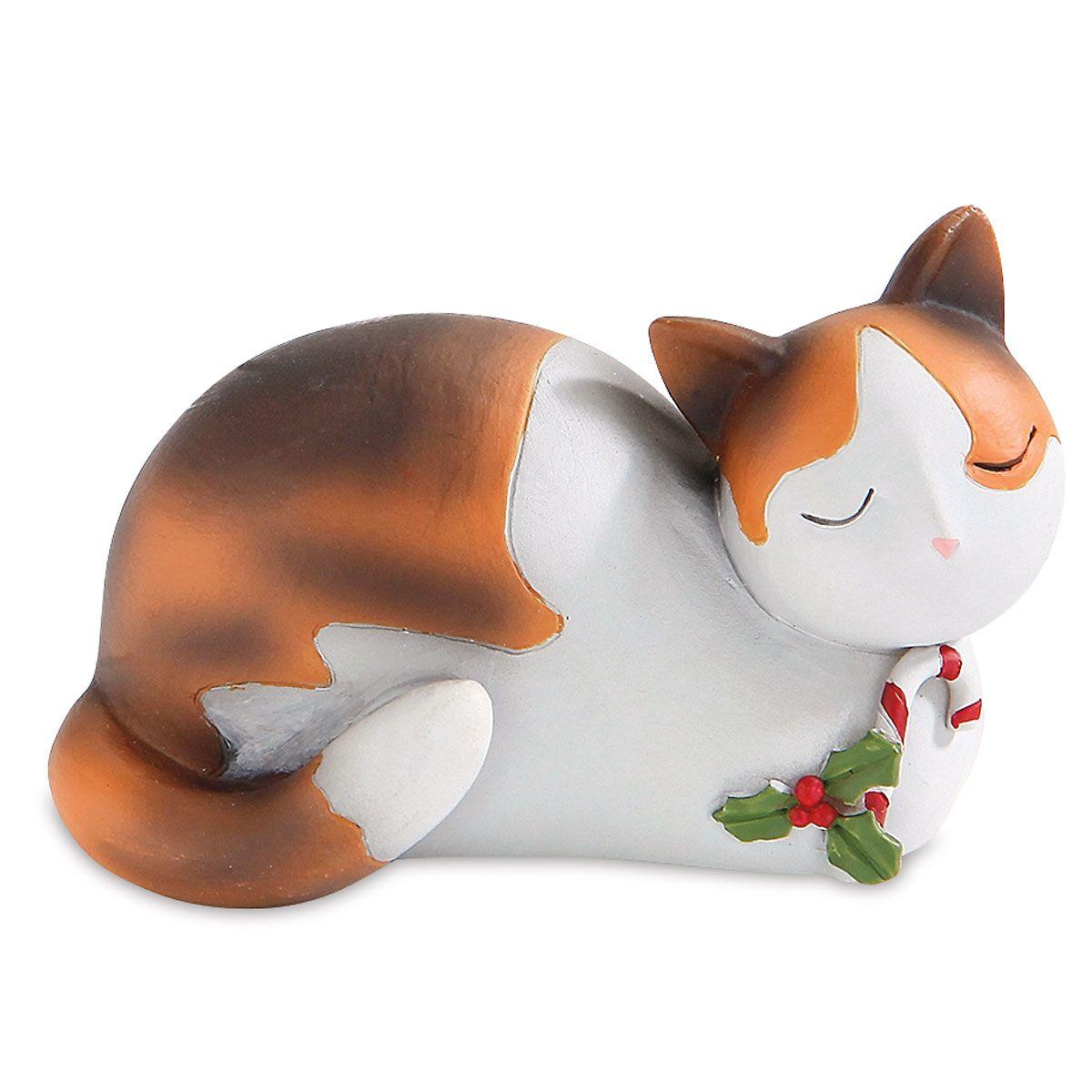 Christmas Cat with Mistletoe