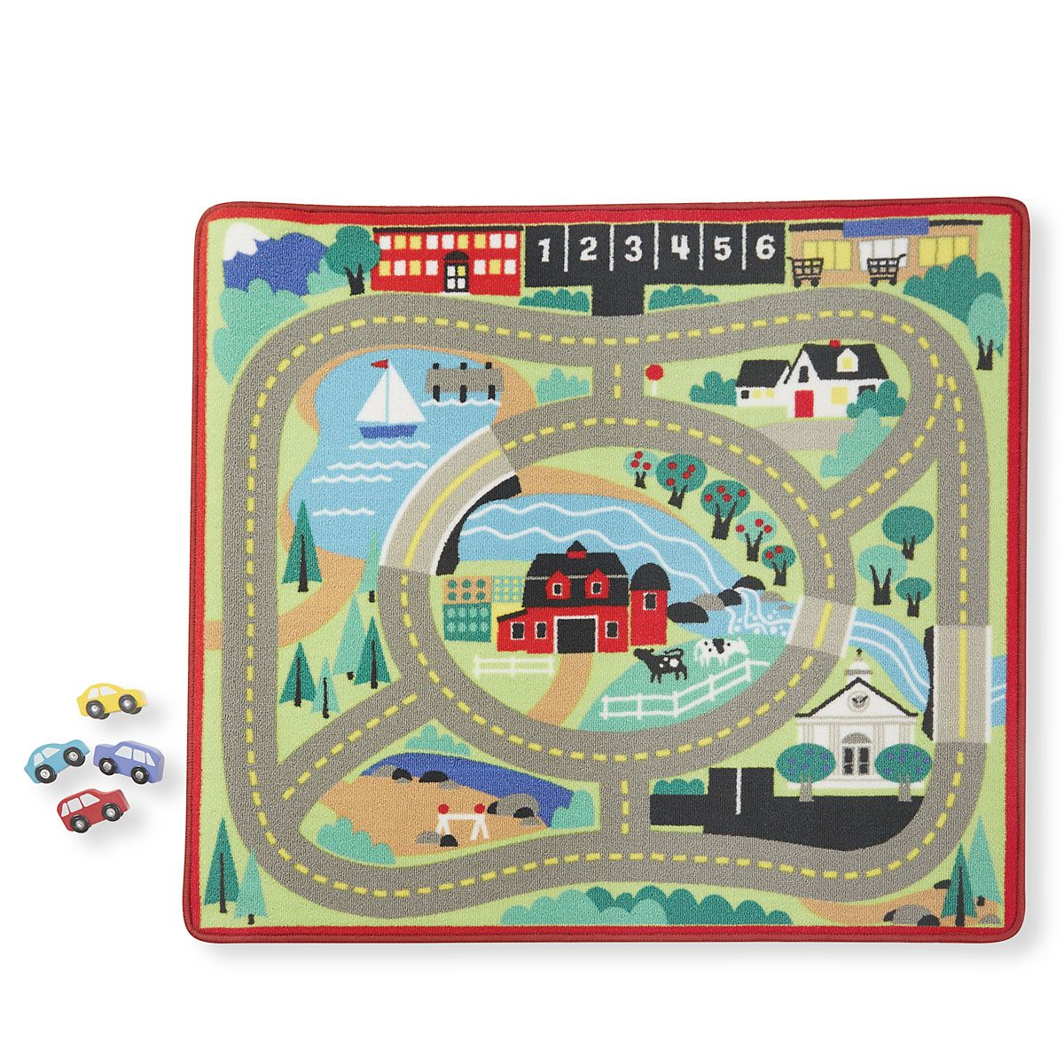 Round the Town Road Rug by Melissa & Doug®