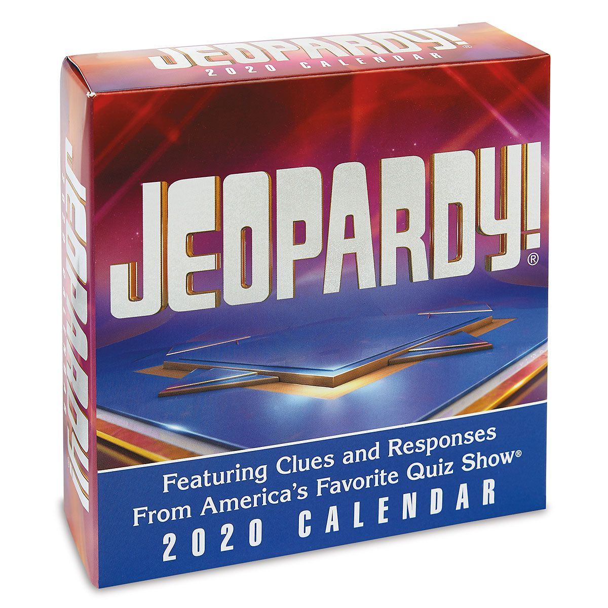 Jeopardy 2020 Calendar