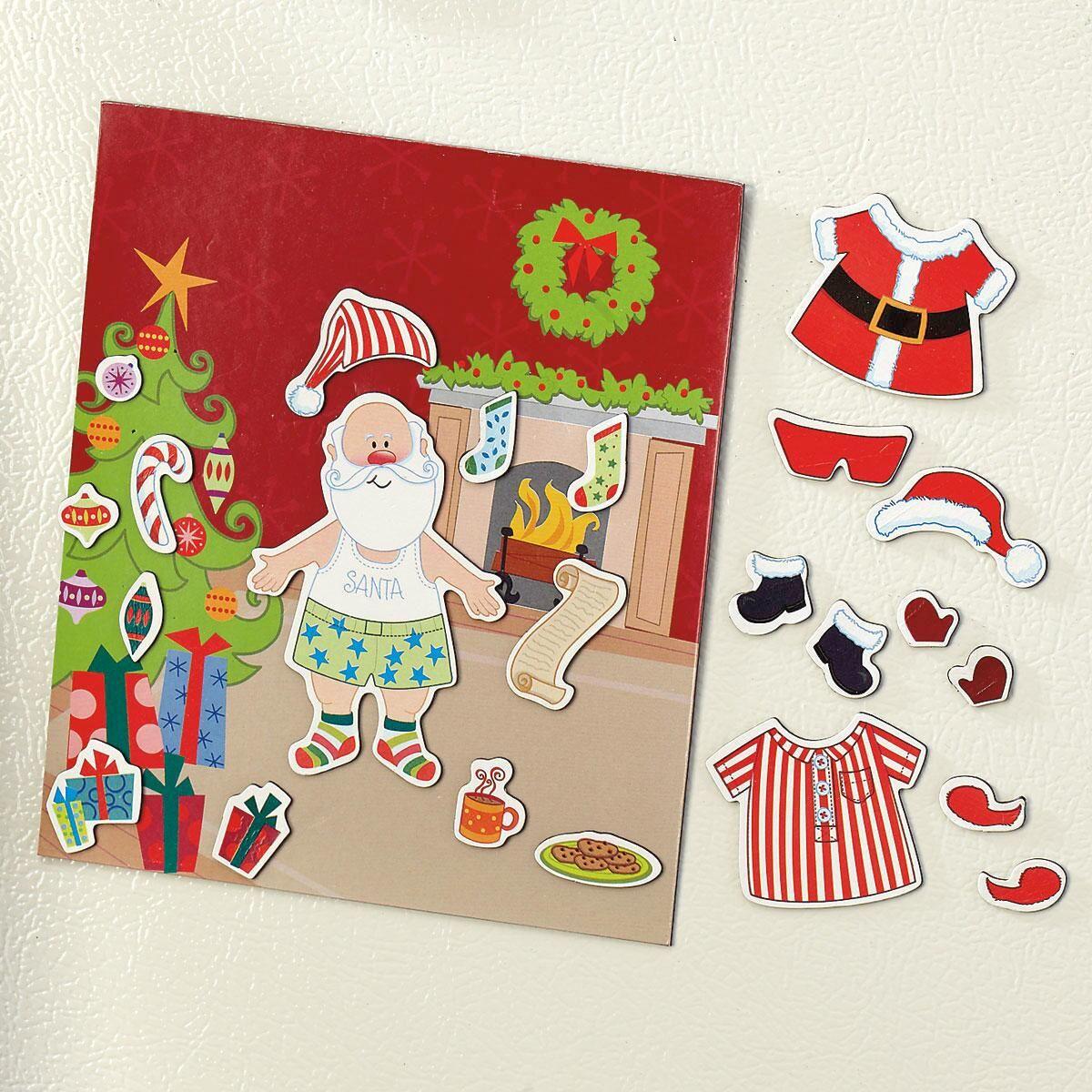 Magnetic Dress Up Santa Set