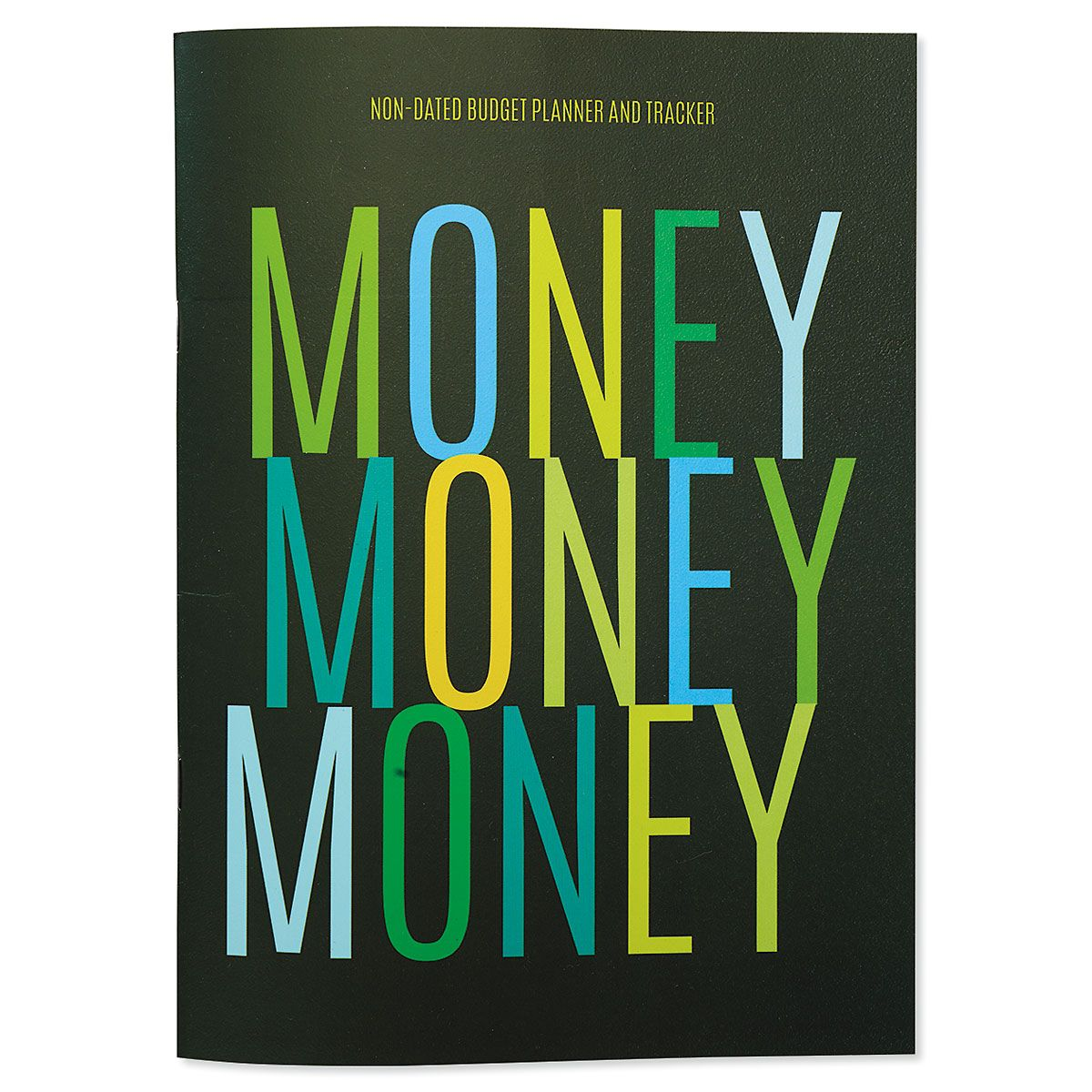 Non-Dated Money Budget Book