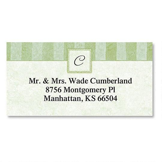 Tailored Elegance Border Address Labels
