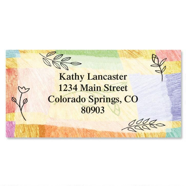 Awakening  Border Return Address Labels