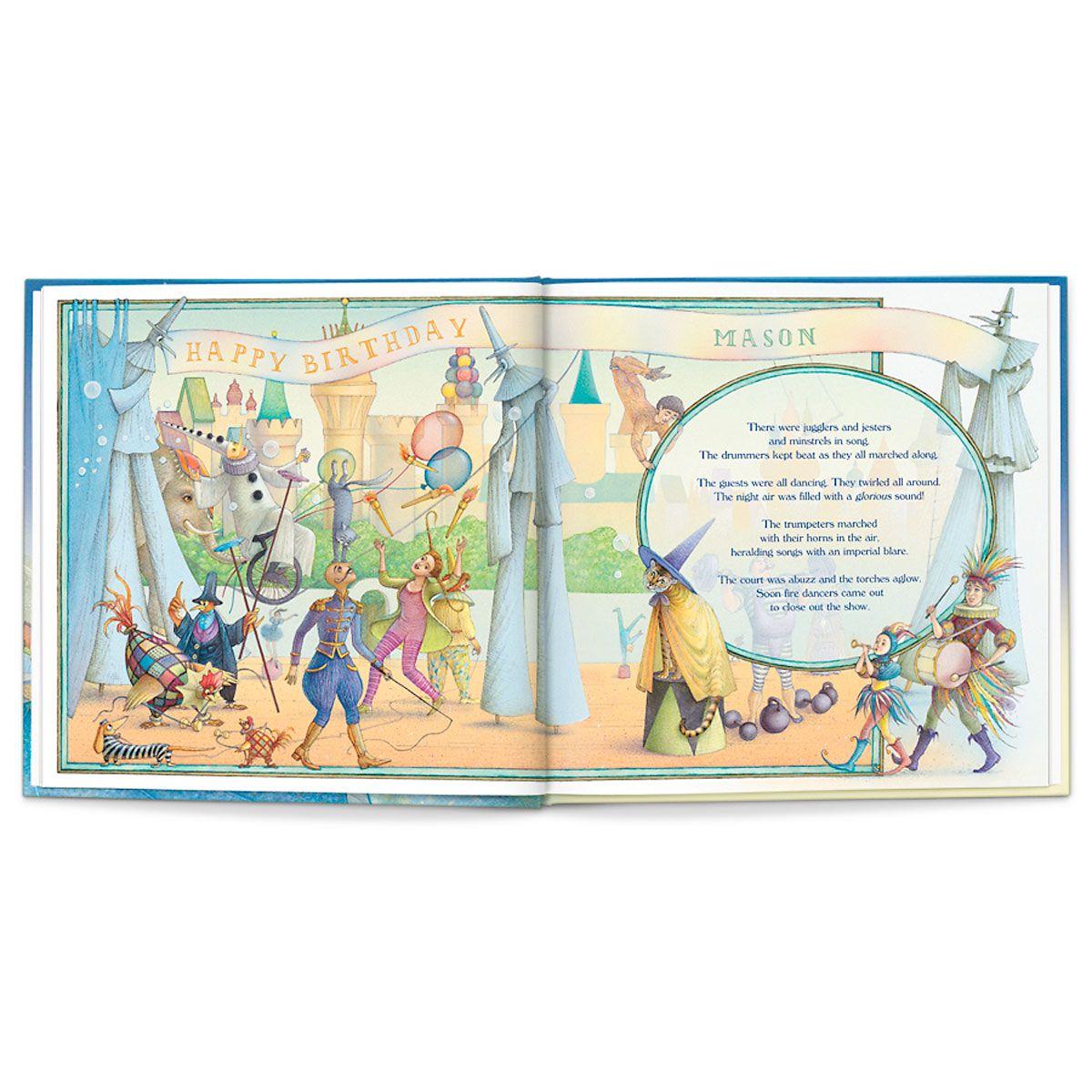 Personalized My Royal Birthday Dragon Adventure Children's Book
