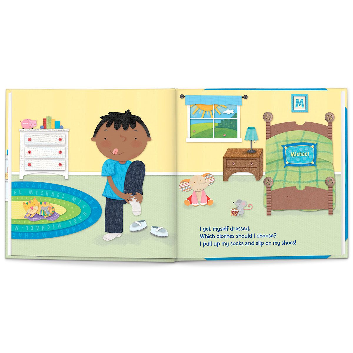 Personalized Big Boy Now Children's Book