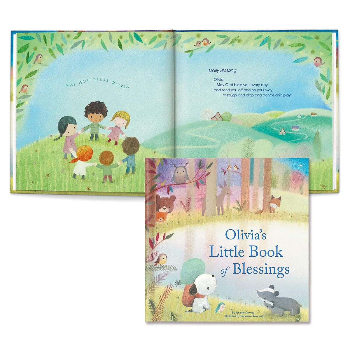 My Little Book of Blessings Personalized Story