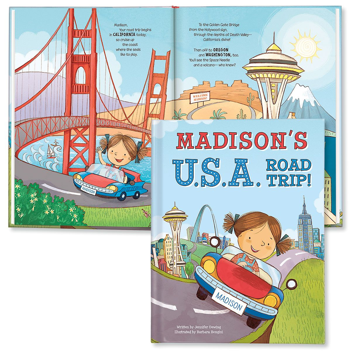 My USA Road Trip Personalized StoryBook