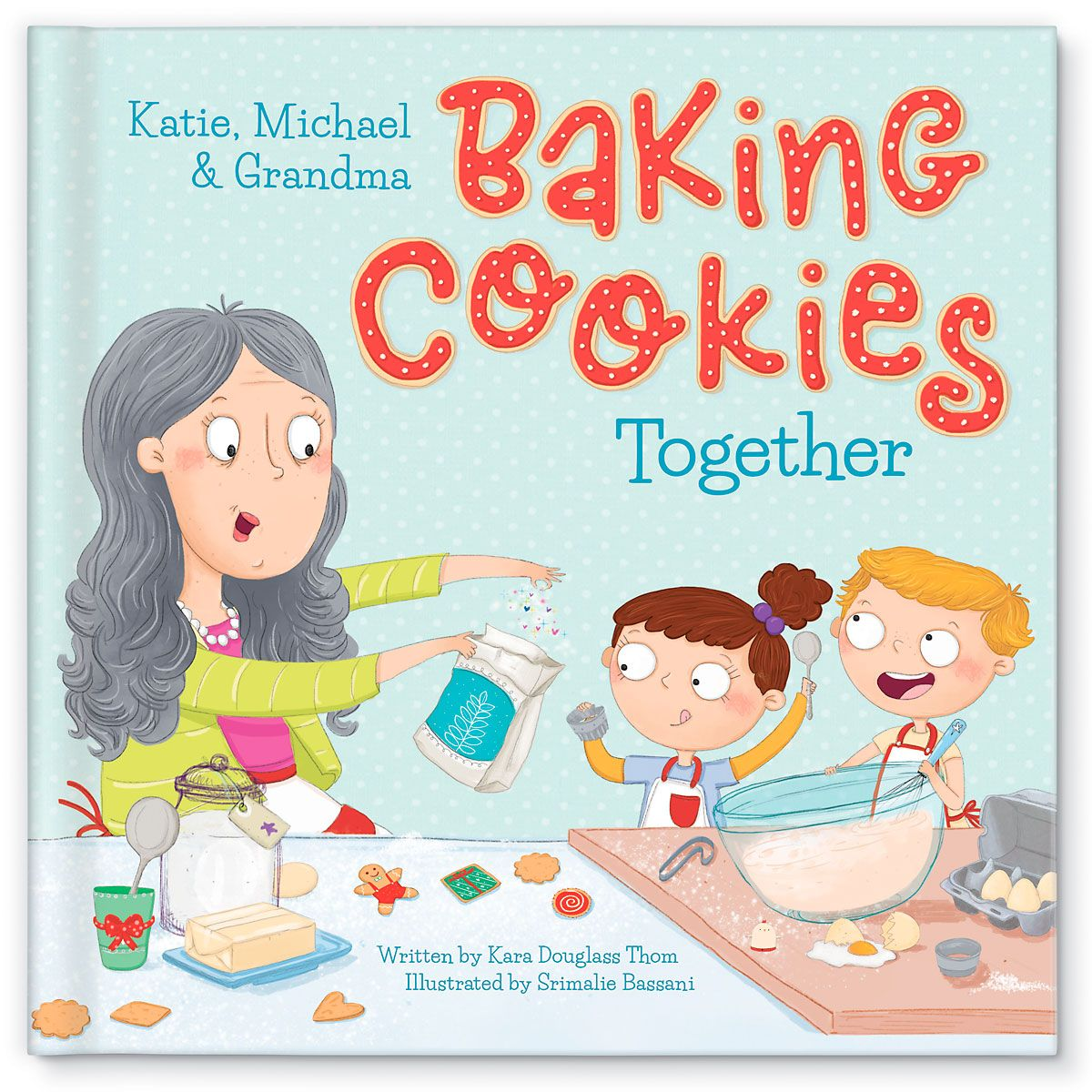 Personalized Baking Cookies Book