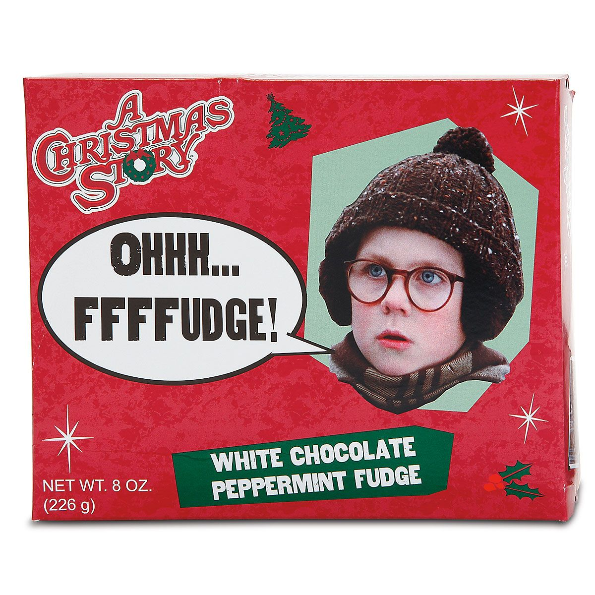 A Christmas Story® Oh, Fudge White Chocolate/ Peppermint Fudge ...