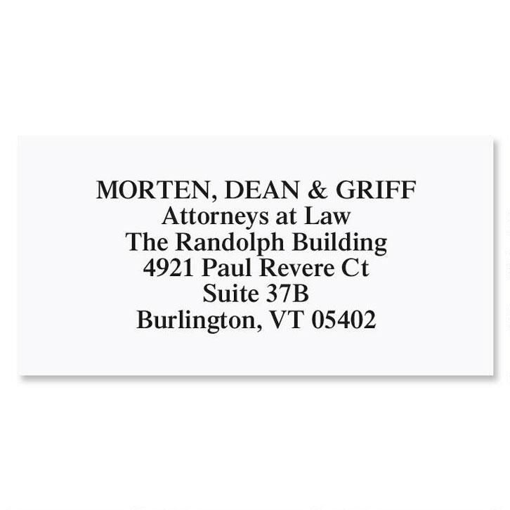 White Premier Plus Address Labels
