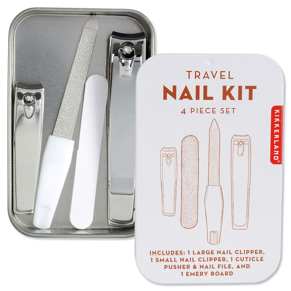 4-Piece Travel Nail Kit