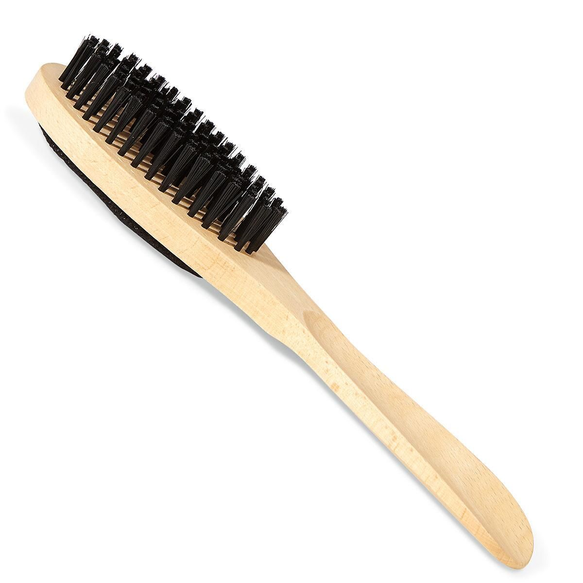 Wooden 3-in-1 Clothes Brush/Lint Remover/Shoe Horn