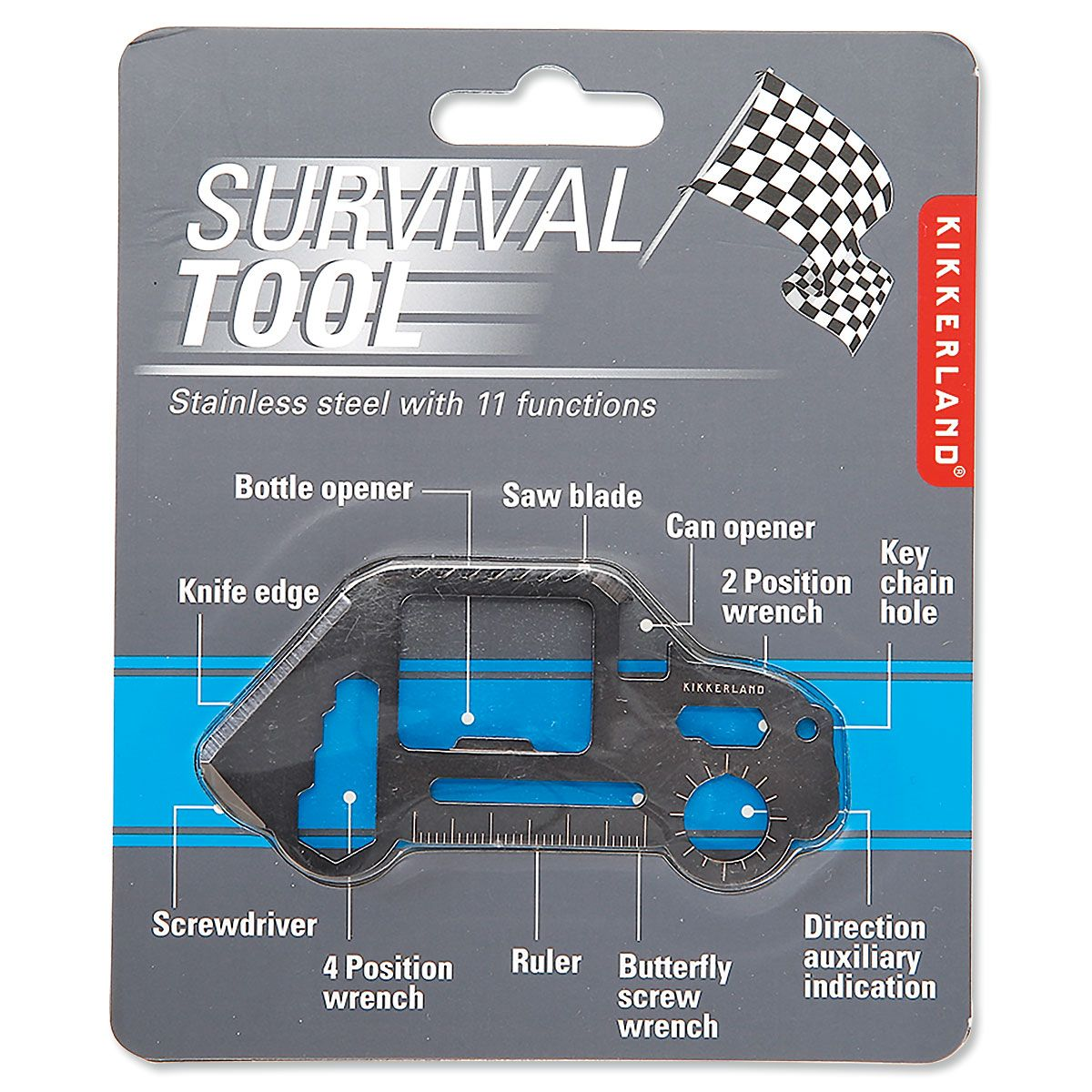 Car-Shaped Survival Tool