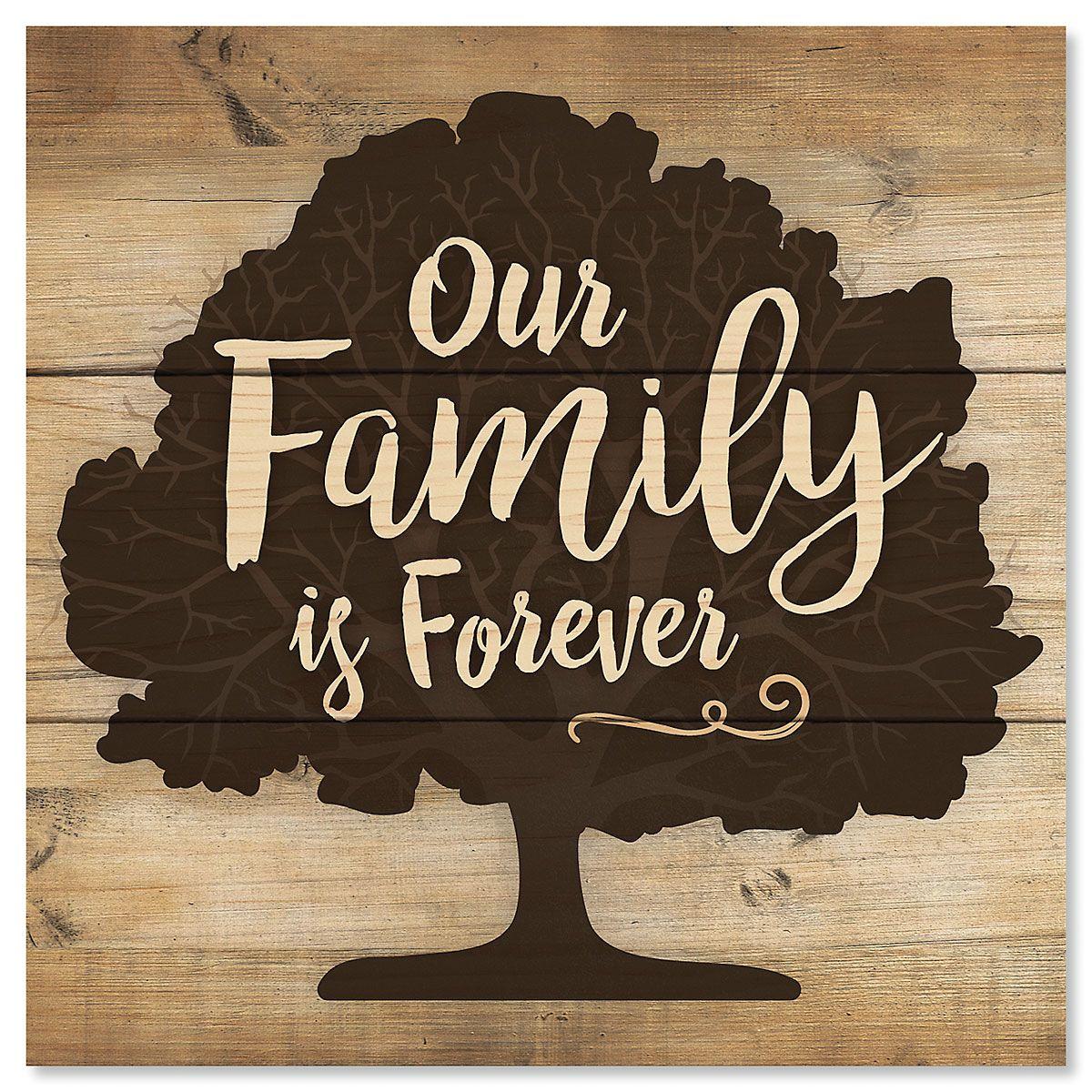 Family Tree Mini Sign