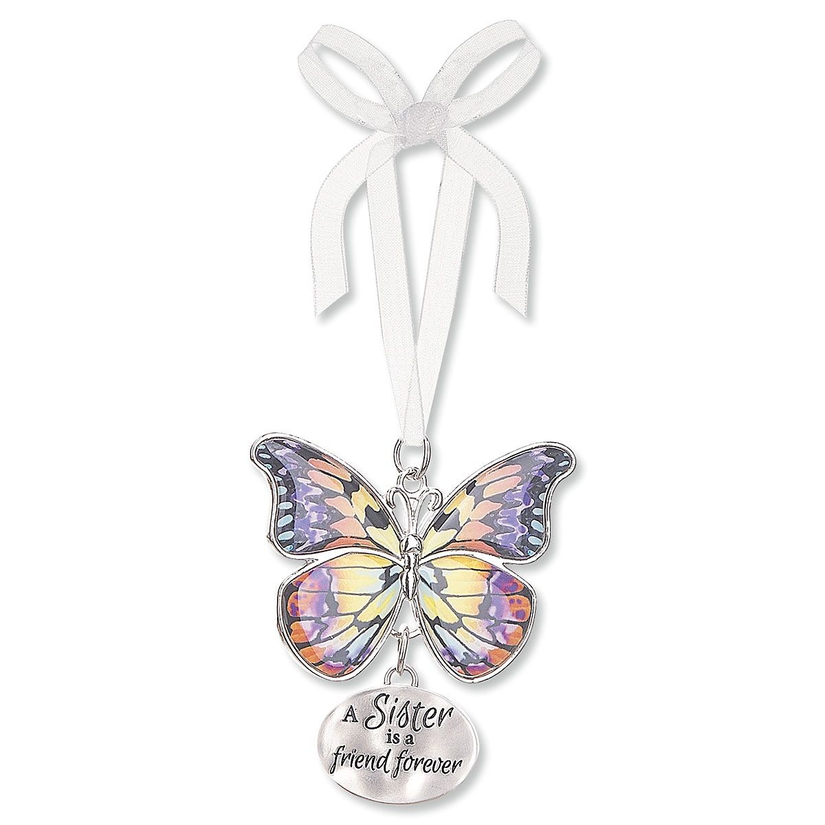 Sister Butterfly Charm